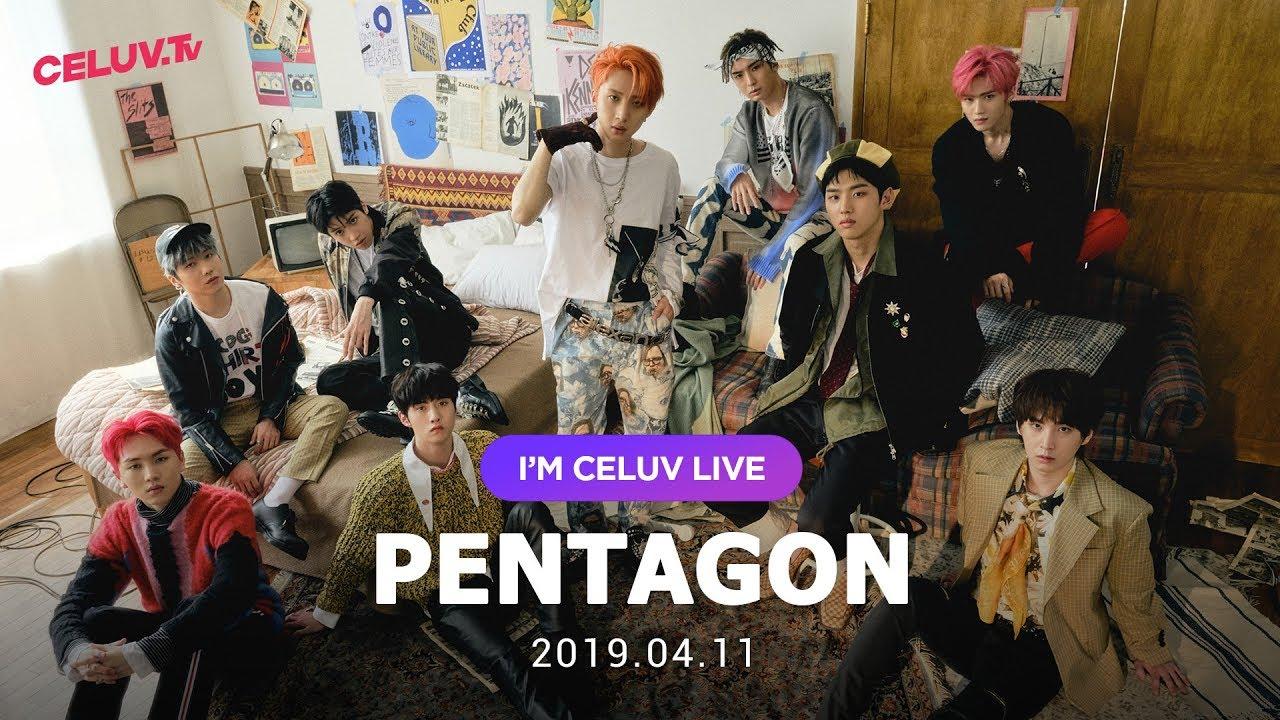 [Multi SUB/I'm Celuv] 펜타곤(PENTAGON), 19년 4월 11일 방송 Full Ver. (Celuv.TV)