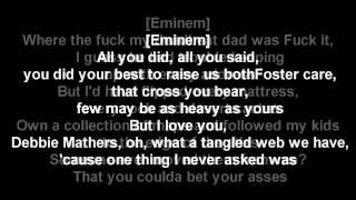 Headlights - Eminem ft. Nate Ruess Lyric Video (Short Version)
