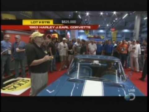 Harley Earl's 1963 Corvette Sells for $925000