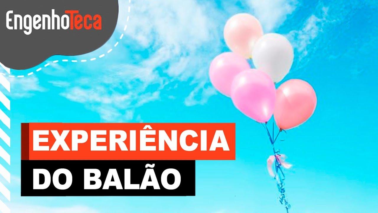 Experiência do balão - Balão que enche sozinho?