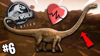 🦖 *PRZYLECIAŁ* WIELKI CHORY DINOZAUR! | Jurassic World Evolution #6