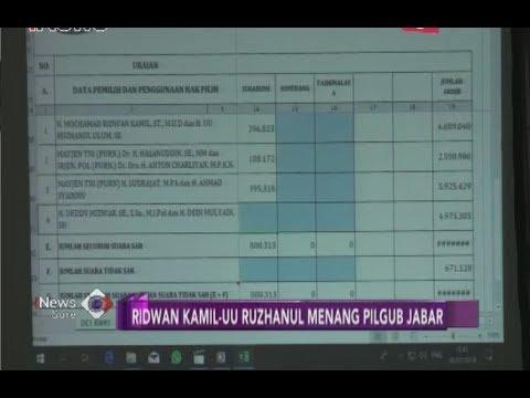 Inilah Para Pemenang Pilkada 2018 Pada Pilgub Jabar, Jateng Dan Jatim -  INews Sore 09/07