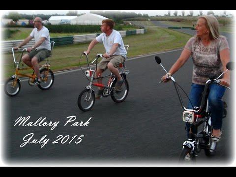 Mallory Park Bike Bonanza Raleigh Chopper and Suzuki GT 250 X7 Two Stroke July 2015