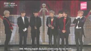 "[VIETSUB/ENGSUB] [161119] DAESANG ""Best Album Of The Year"" - BTS (방탄소년단)  @ 2016  MelOn Music Awards"