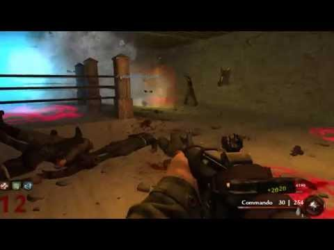 Berlin Hell Hospital - Co-op - Call of Duty 5 : World at War Nazi Zombie [Svk]