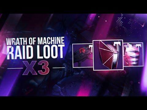 wrath of the machine heroic loot