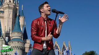 Andy Grammer Rocks The Disney Christmas Parade With 'Merry Little Christmas'