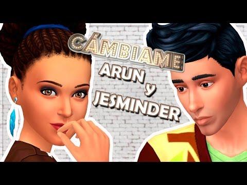 Los Sims 4 ¡CÁMBIAME! | ARUN Y JESMINDER BHEEDA (Makeover - Coachella look)
