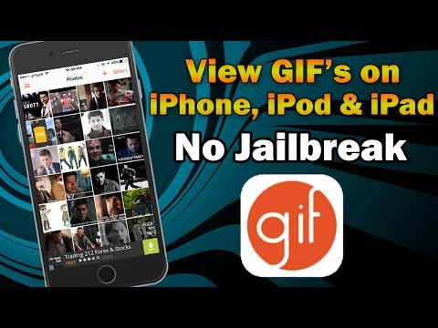 How to View GIF Images on iPhone, iPod touch or iPad (Without Jailbreak)