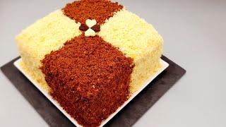 Самый популярный Торт с Необычным кремом Oson va mazali tort Торт Сметанник