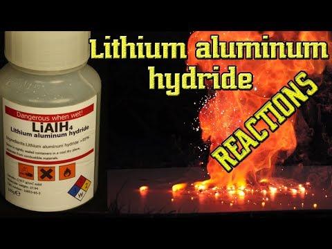 LiAlH4. Lithium Aluminum Hydride. Reactions