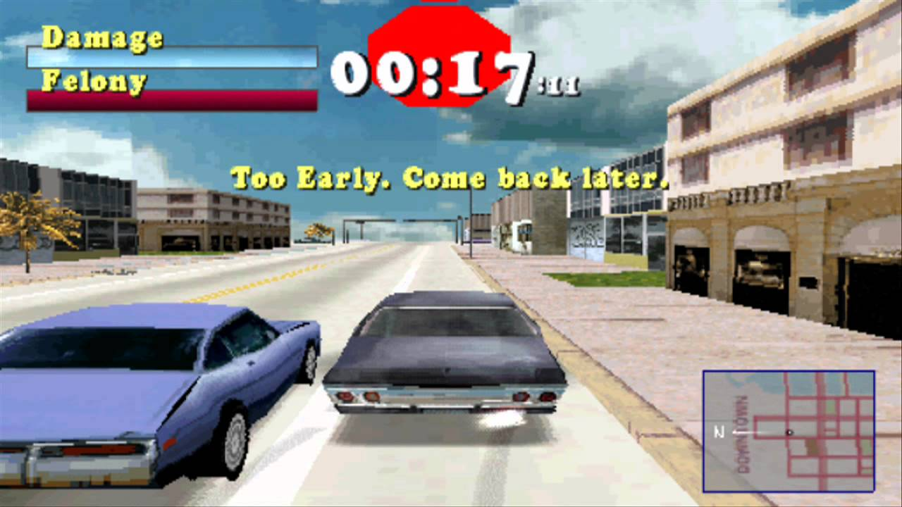 Barn-megaparsec: Name that Car #1: Driver (PS1, 1999)