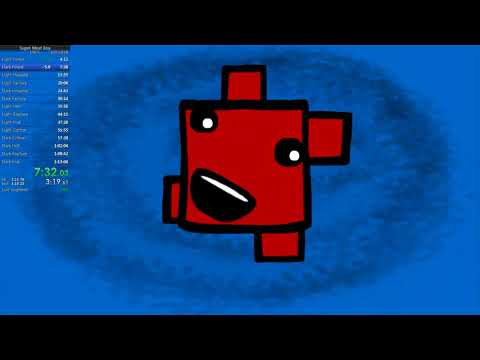 Super Meat Boy 106% in 1:12:03 (World Record)