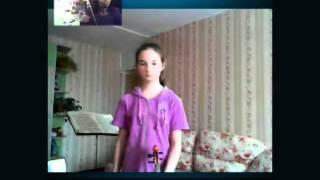 Как играть на скрипке. Урок онлайн