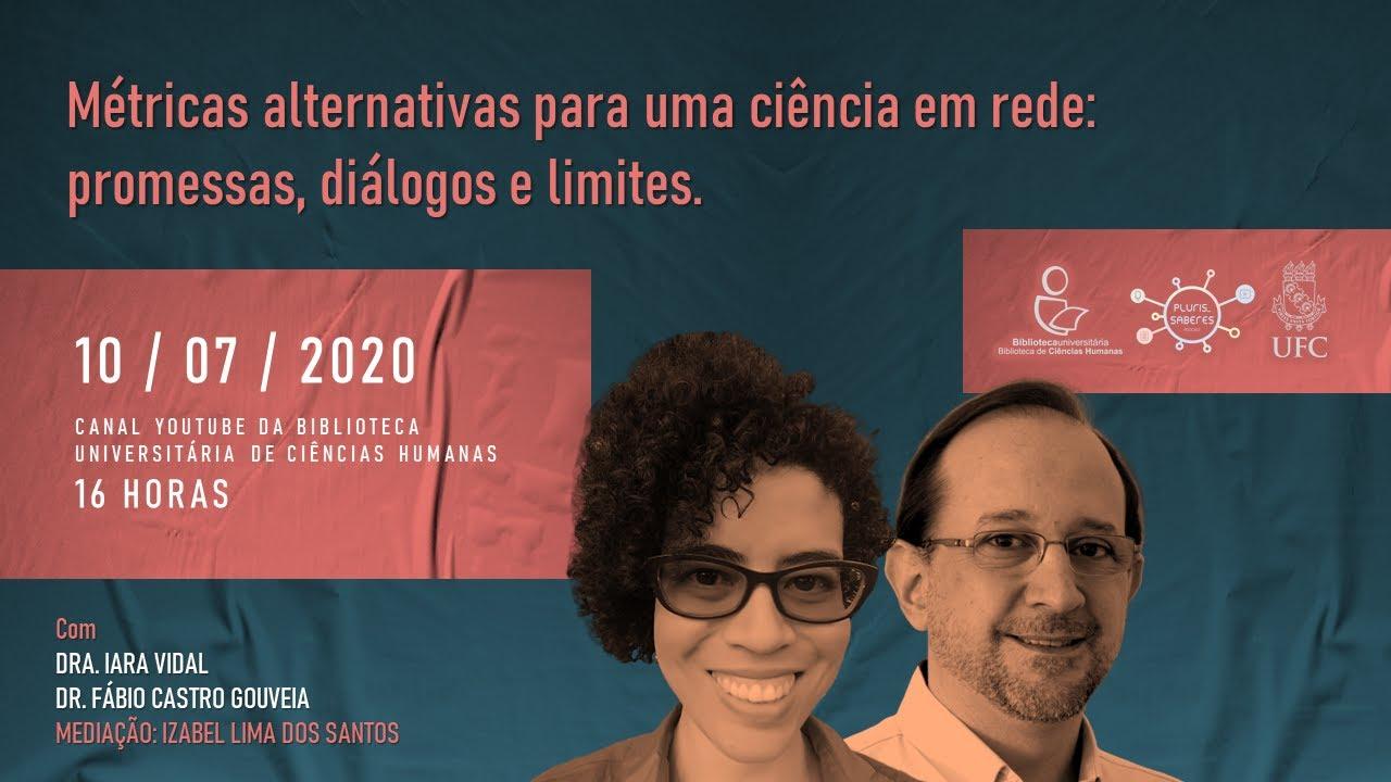 Metricas alternativas para uma ciencia em rede promessas dialogos e limites