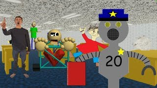 Security Guard Unit 20 Plays: Baldi's Basics in Education and Learning Endless Mode