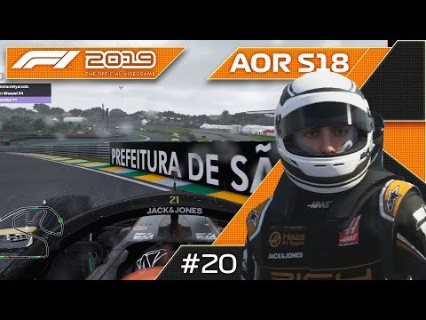 WHAT A FINALE! F1 2019 AOR XB1 F3 League Round 20 Brazil!