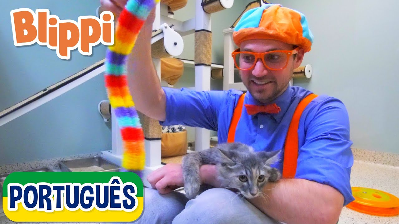 Download Blippi Visita um Abrigo de Animais | +mais Vídeos Educativos para Crianças | As Aventuras de Blippi