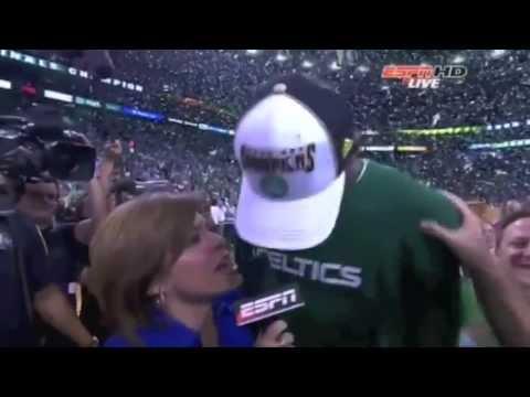 Boston Celtics 2008 NBA Finals Game 6 part 12