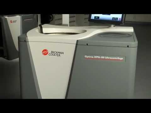 "Optima XPN & XE Series Ultra Centrifuges ""Performance"" by Beckman Coulter"