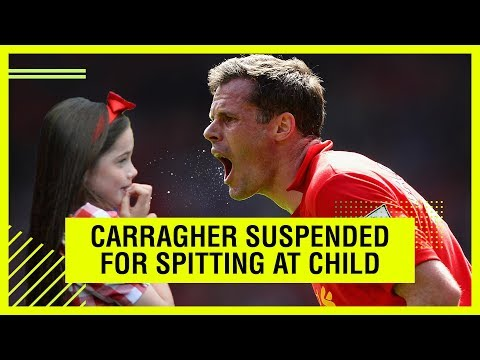 Carragher suspended by Sky Sports after spitting at fan