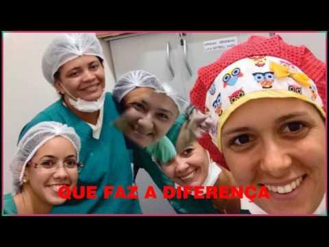 Homenagem a equipe de enfermagem da MESM