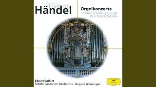 Handel: Organ Concerto No.9 in B flat, Op.7 No.3 HWV 308 - 3. Spiritoso