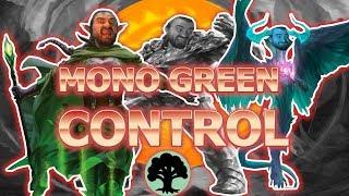 GREEN NOW HAS IT ALL! Mono Green Control Superfriends Standard MTG Arena WAR