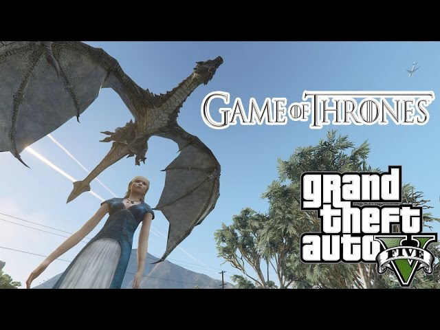 GTA V Game of Thrones Mod