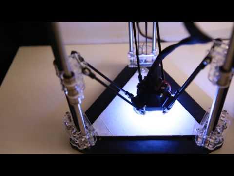 Micro Delta Imprimante 3D Française By EMotion Tech