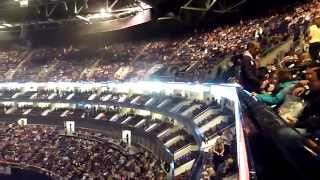 London O2 Arena Block 404 Row A Seat Level 4