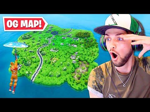 The OG Season 1 Fortnite Map RETURNS!