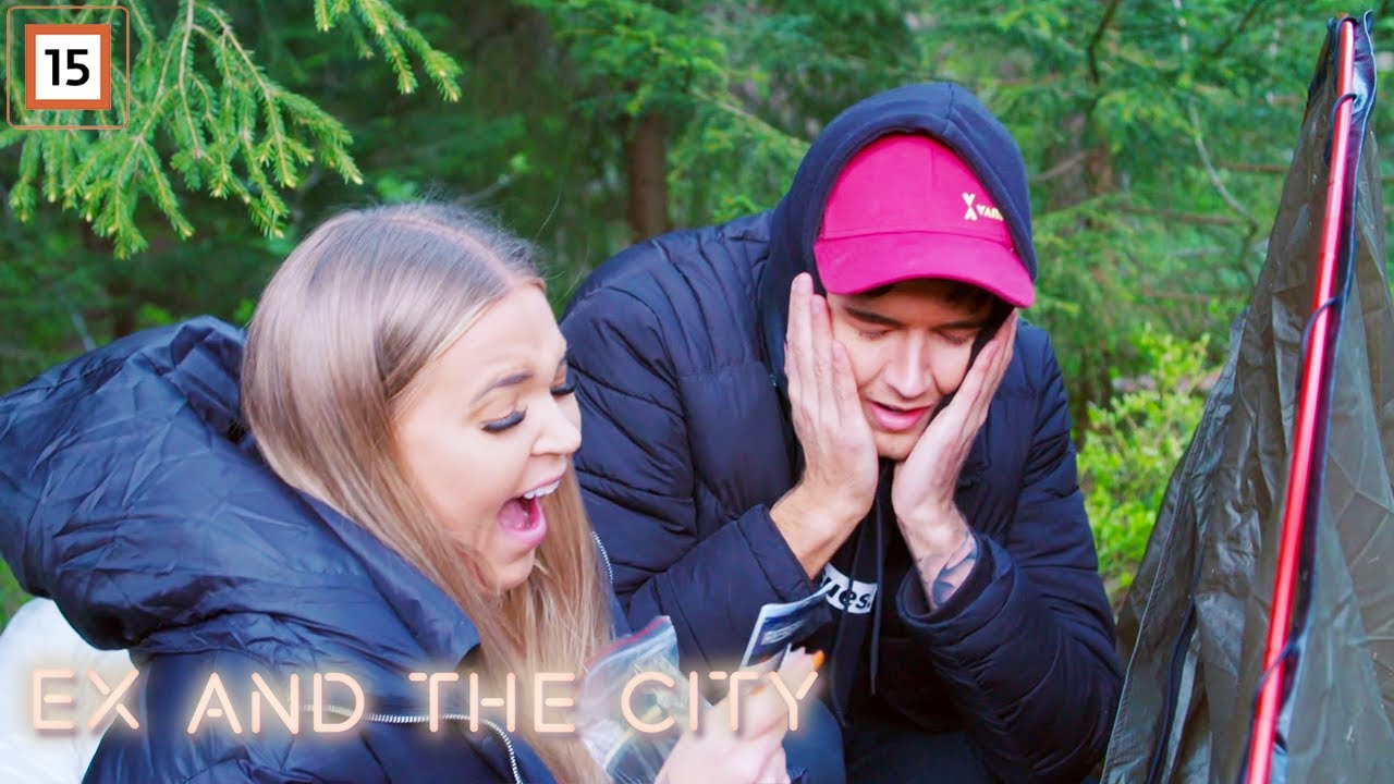 Ex and the City | Andreas og Siv setter opp et telt for første gang | Dplay