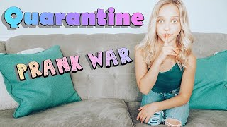 Quarantined Sibling Prank War (Brother VS Sister) | Lilly K!! #athome #stayhome #withme #prank