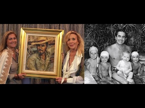 Tyrone Power tribute for his 100th birthday by family friend Daryn Hinton