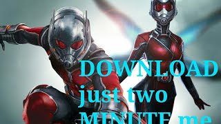 How to download Ant man 2