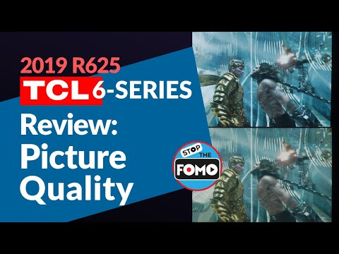 2019 TCL 6 Series TV Review: Picture Quality vs OLED Sony A9G