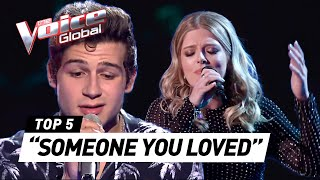 Download lagu BEST 'SOMEONE YOU LOVED' (Lewis Capaldi) covers in The Voice