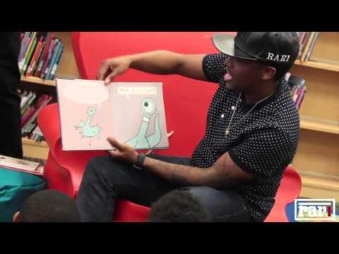 "Ferrari Simmons ""Reading With Rari"" at West Manor Elementary School"