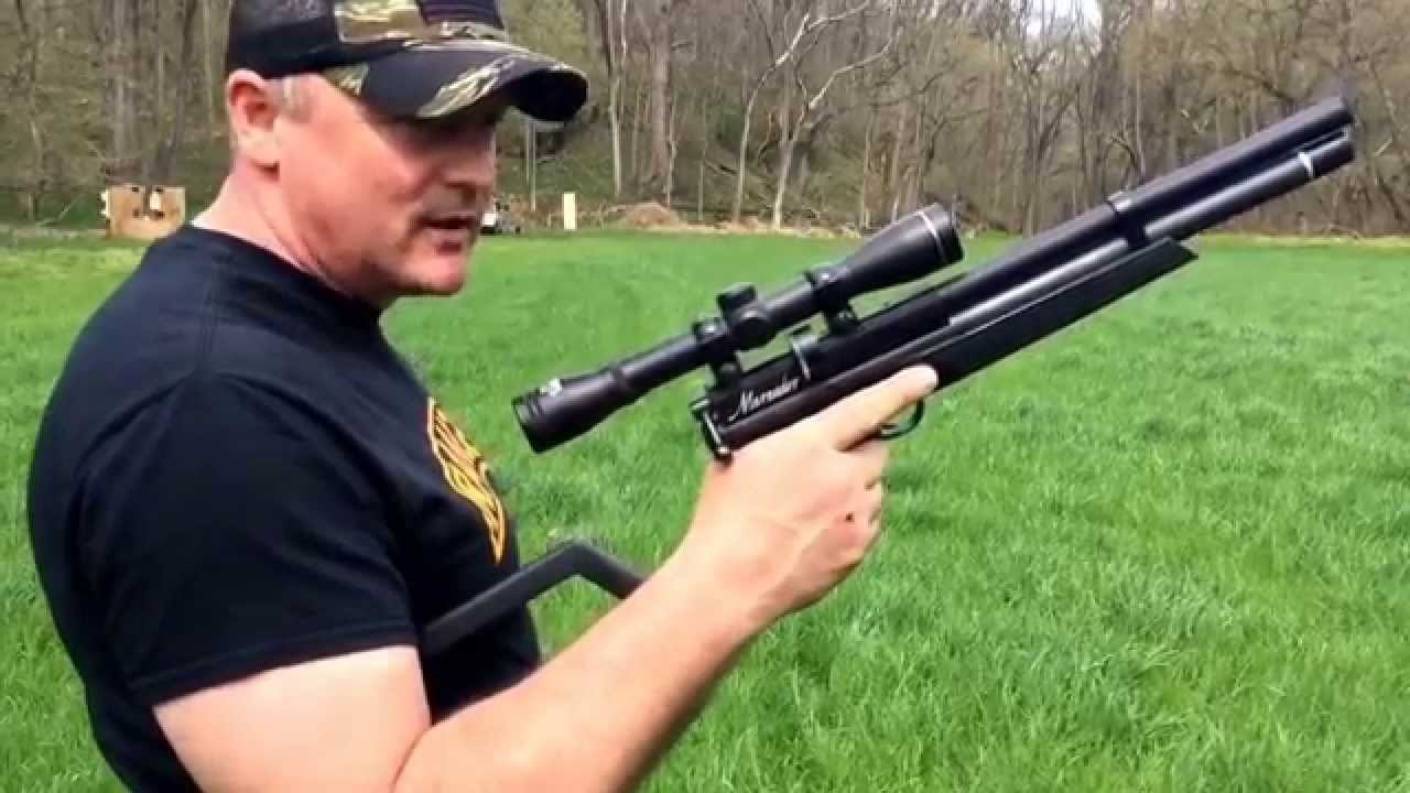 Benjamin Marauder P-Rod 100 Yard Shot