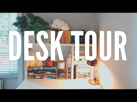 DESK TOUR & STATIONERY COLLECTION