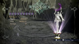 Bayonetta 2 - Witch Trial 5 (Pure Platinum)