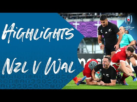 Highlights: New Zealand v Wales - Rugby World Cup 2019