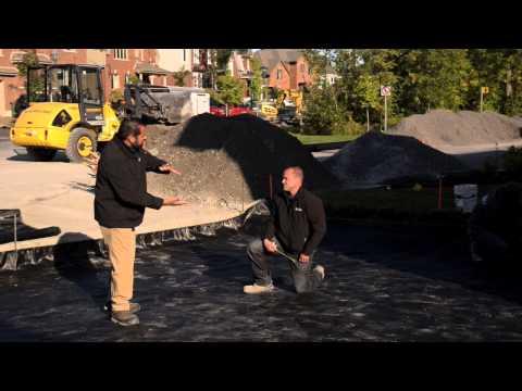 Geotextile Fabric Installation