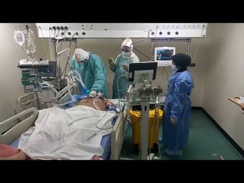 لبنان   وضع مخيف في طوارىء المستشفيات   ونداء عاجل من ممرضة عبر -اخبار الا?ن-