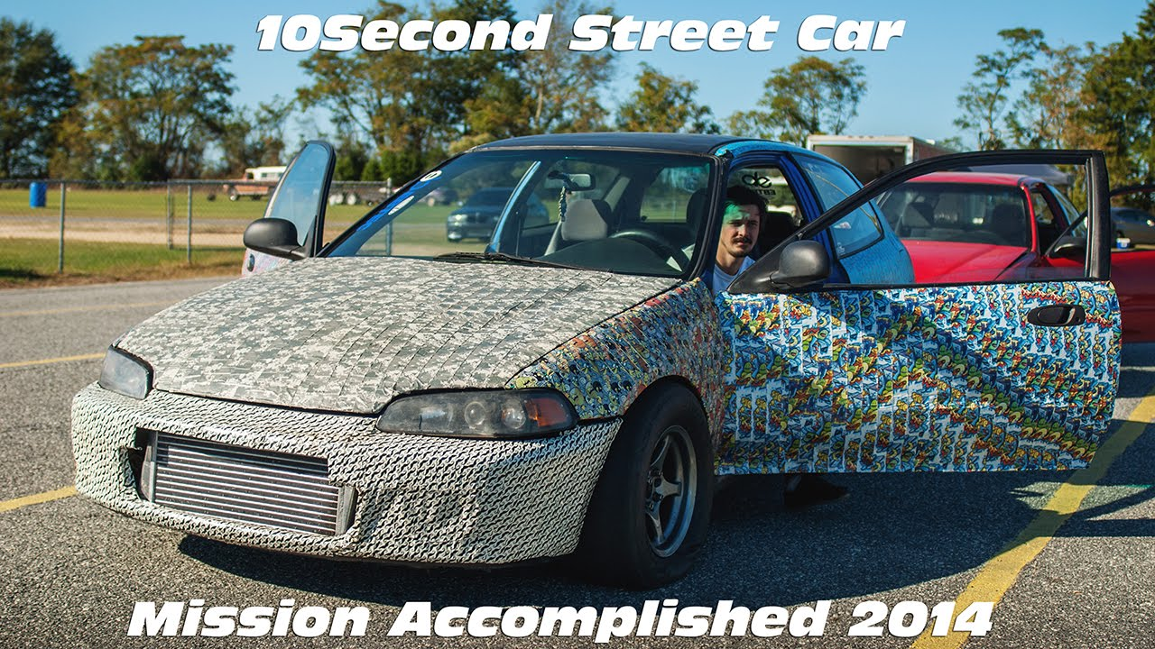 Jons 10 Second Duct Tape Street Car