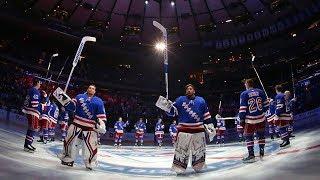 Blueshirts Opening Night Introductions   New York Rangers   MSG Networks