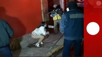 Video: Vigilantes chase, whip women in 'anti-prostitution' raid on Peru night club