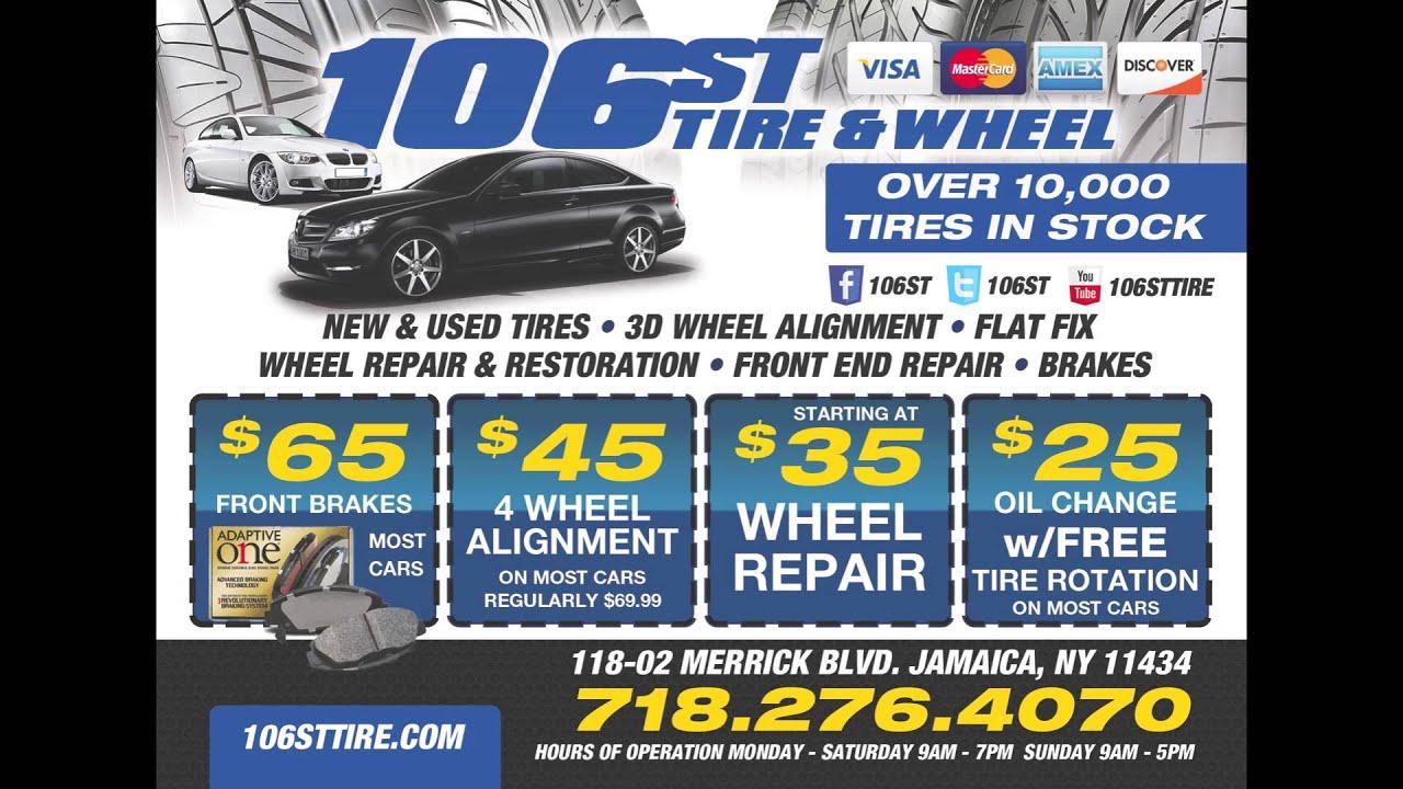 106st Tire Jamaica Ny 4 Wheel Alignment Auto Repair