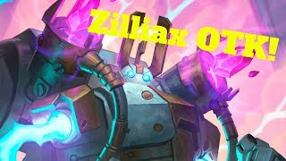 Zilliax OTK! Glinda Mechwarper Wrathguard Combo! [Hearthstone Game of the Day]